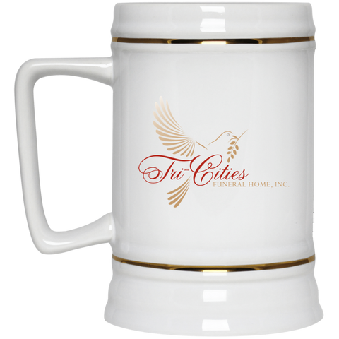Tri-Cities Funeral Home 22217 Beer Stein 22oz.