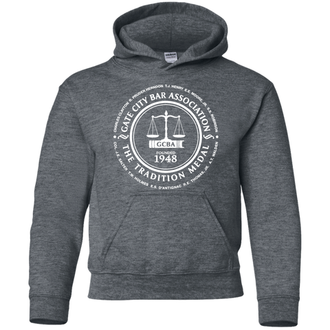 Gate City Bar G185B Gildan Youth Pullover Hoodie