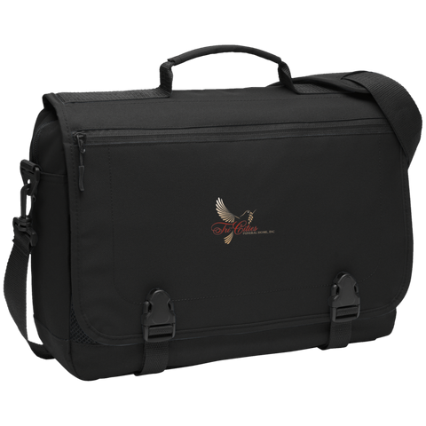 Tri-Cities Funeral Home BG304 Port Authority Messenger Briefcase