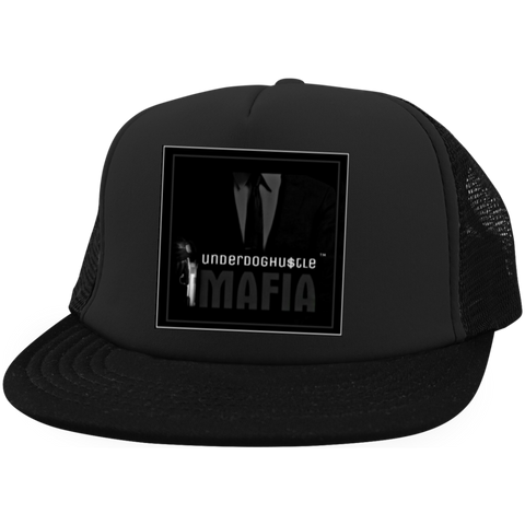 UnderdogHUSTLE Mafia DT624 District Trucker Hat with Snapback