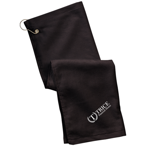 Trice Funeral Home TW51 Port Authority Grommeted Golf Towel