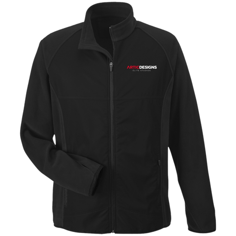 TT92 Team 365 Microfleece with Front Polyester Overlay