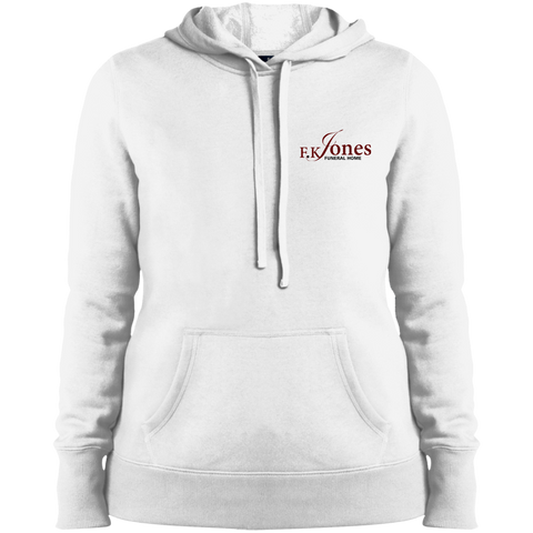 FK Jones Funeral Home LST254 Sport-Tek Ladies' Pullover Hooded Sweatshirt