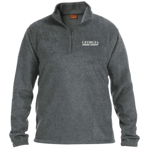 Georgia Dental Society (GDS) M980 Harriton 1/4 Zip Fleece Pullover