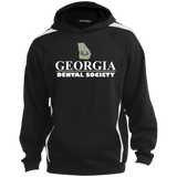 Georgia Dental Society (GDS) ST265 Sport-Tek Sleeve Stripe Sweatshirt with Jersey Lined Hood