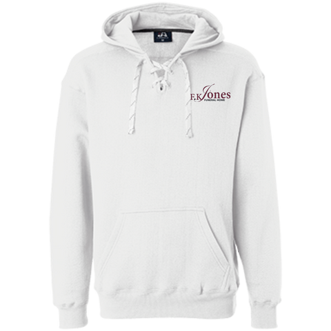 FK Jones Funeral Home JA8830 J America Heavyweight Sport Lace Hoodie