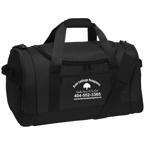 Burke Landscape Management BG800 Port Authority Travel Sports Duffel