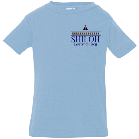 Shiloh Baptist Church 3322 Rabbit Skins Infant Jersey T-Shirt