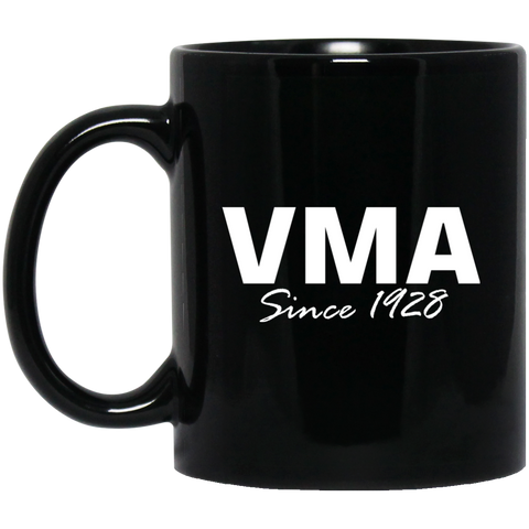VMA BM11OZ 11 oz. Black Mug