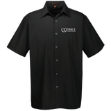 Trice Funeral Home M545 Harriton Men's Snap Closure Short Sleeve Shirt
