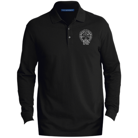 NFD&MA K8000LS Port Authority Men's EZCotton™ LS Polo