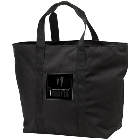 UnderdogHUSTLE Mafia B5000 Port & Co. All Purpose Tote Bag