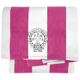 NFD&MA PT43 Port & Company Cabana Stripe Beach Towel