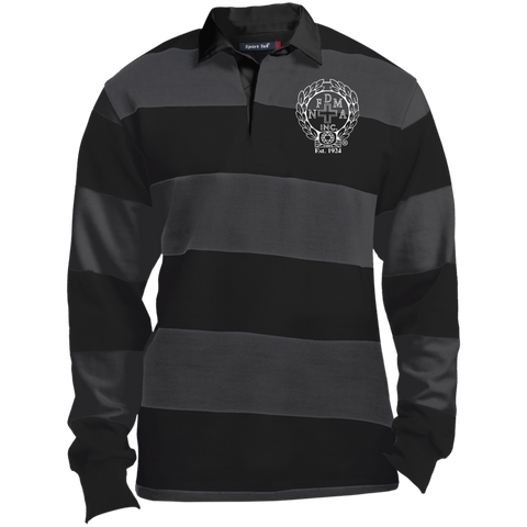 NFD&MA ST301 Sport-Tek LS Rugby Polo