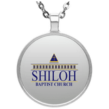 Shiloh Baptist Church UN4686 Circle Necklace