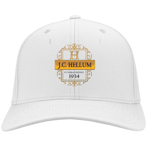 J.C. Hellum Funeral Homes CP80 Port & Co. Twill Cap