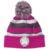 NFD&MA 223835 Holloway Striped Beanie with Pom