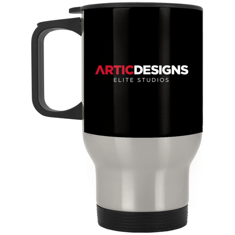 Artic Designs XP8400S Silver Stainless Travel Mug