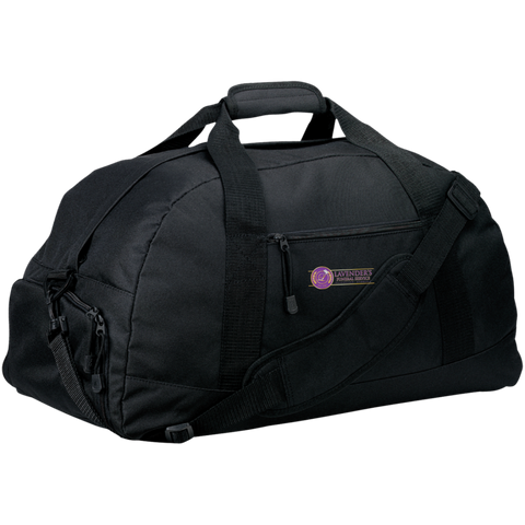 Lavenders Funeral Service BG980 Port & Co. Basic Large-Sized Duffel Bag