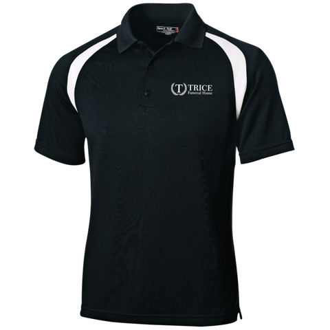 Trice Funeral Home T476 Sport-Tek Moisture-Wicking Tag-Free Golf Shirt