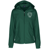 NFD&MA LST76 Sport-Tek Ladies' Jersey-Lined Hooded Windbreaker