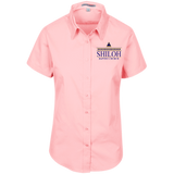 Shiloh Baptist Church L508 Port Authority Ladies' Short Sleeve Easy Care Shirt