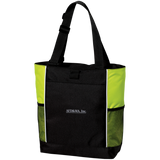 AFD&MA B5160 Port Authority Colorblock Zipper Tote Bag