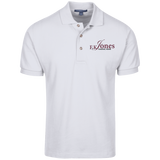 FK Jones Funeral Home K420 Port Authority Cotton Pique Knit Polo