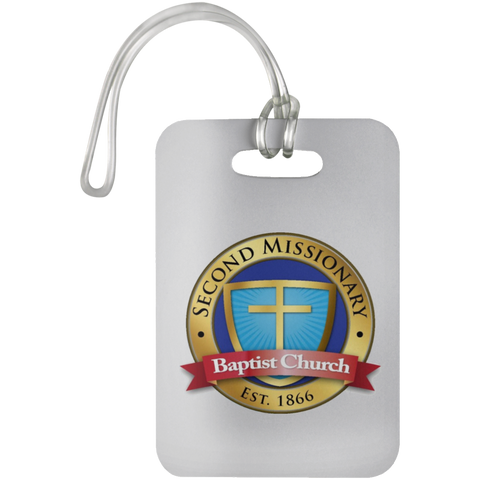 Second Missionary Baptist Church UN5503 Luggage Bag Tag