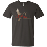 Tri-Cities Funeral Home 982 Anvil Men's Printed V-Neck T-Shirt