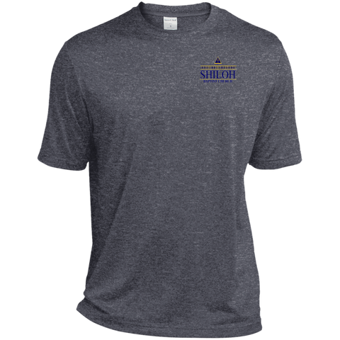 Shiloh Baptist Church TST360 Sport-Tek Tall Heather Dri-Fit Moisture-Wicking T-Shirt