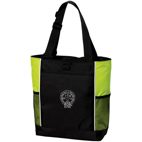 NFD&MA B5160 Port Authority Colorblock Zipper Tote Bag