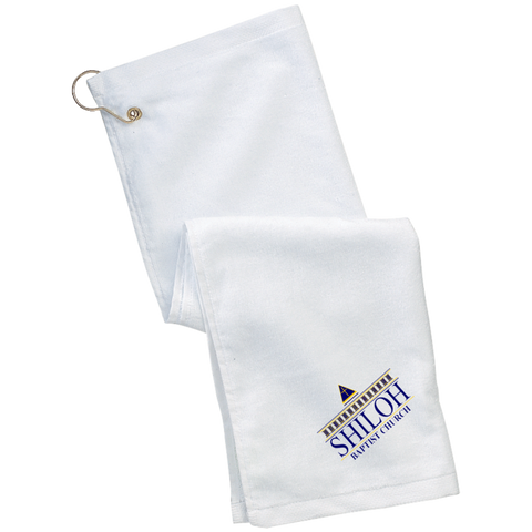 Shiloh Baptist Church TW51 Port Authority Grommeted Golf Towel