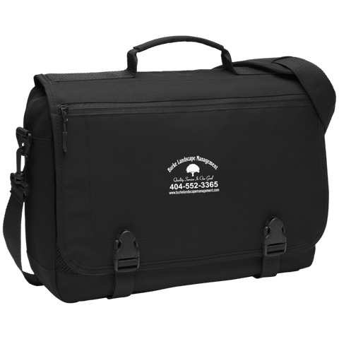 Burke Landscape Management BG304 Port Authority Messenger Briefcase
