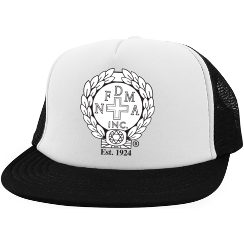 NFD&MA DT624 District Trucker Hat with Snapback