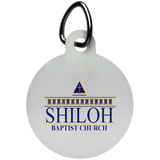 Shiloh Baptist Church UN5773 Circle Pet Tag