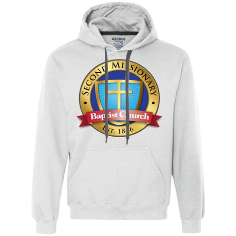 Second Missionary Baptist Church G925 Gildan Heavyweight Pullover Fleece Sweatshirt