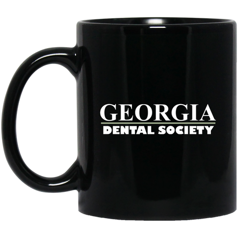Georgia Dental Society (GDS) BM11OZ 11 oz. Black Mug