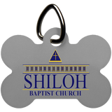 Shiloh Baptist Church UN5771 Dog Bone Pet Tag