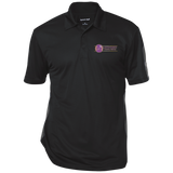 Lavenders Funeral Service ST695 Sport-Tek Performance Textured Three-Button Polo