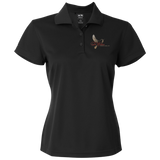 Tri-Cities Funeral Home A131 Adidas Golf Women's ClimaLite Basic Performance Pique Polo