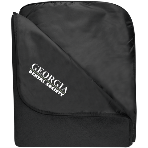 Georgia Dental Society (GDS) TB850 Port Authority Fleece & Poly Travel Blanket