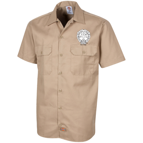 NFD&MA 1574 Dickies Men's Short Sleeve Workshirt