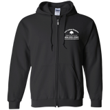 Burke Landscape Management G186 Gildan Zip Up Hooded Sweatshirt