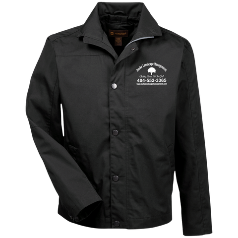 Burke Landscape Management M705 Harriton Canvas Work Jacket