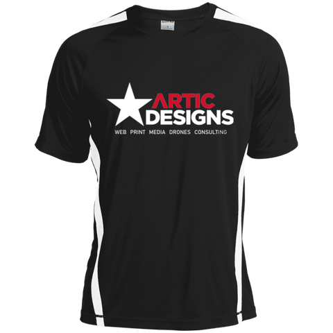 Artic Designs ST351 Sport-Tek Colorblock Dry Zone Crew
