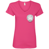 NFD&MA 88VL Anvil Ladies' V-Neck T-Shirt