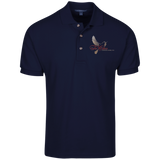 Tri-Cities Funeral Home K420 Port Authority Cotton Pique Knit Polo