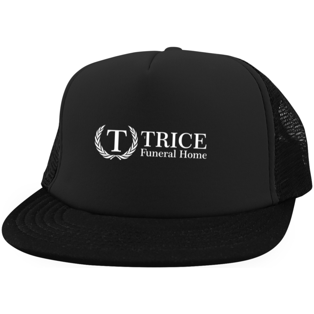 Trice Funeral Home DT624 District Trucker Hat with Snapback – Artic ... 74398effbf9