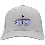 Shiloh Baptist Church CP80 Port & Co. Twill Cap